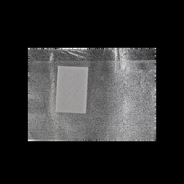 Sibel Feuilles d'Aluminium avec Éponge Synthétique 50pcs