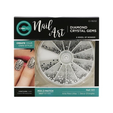Décors ongles Nail Art Diamond Crystal Gems