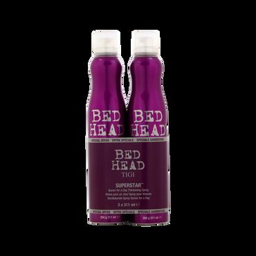 TIGI BH Superstar Queen For A Day Spray Duo 2017