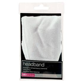 SALON SERVICES Headband White