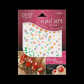 Cina Décalcomanie Nail Art Blush Petals