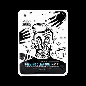 Barber Pro Masque Détoxifiant Moussant Nettoyant Visage