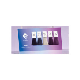 PAUL MITCHELL The Demi Violets & Blues Swatch Card
