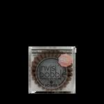 INVISIBOBBLE Rubber Band Power Pretzel Brown 3pcs