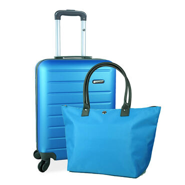 Valise & Tote Bag Bleu