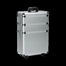 Valise aluminium 3 Niveaux de Rangement