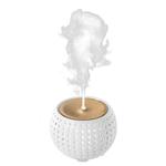 Ellia Diffuseur d'huiles essentielles à Ultrasons ELLIA Gather Blanc