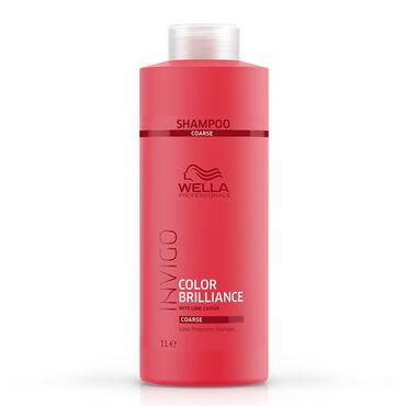 Wella Invigo Color Brilliance Shampoo Coarse 1l