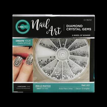 Cina Décors ongles Nail Art Diamond Crystal Gems