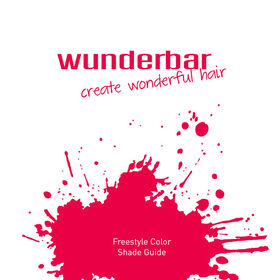 Wunderbar Nuancier coloration Freestyle Color