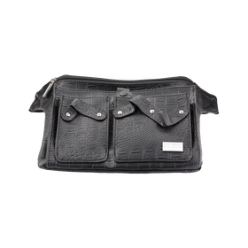 Trousse Belt 3 Croco Noir