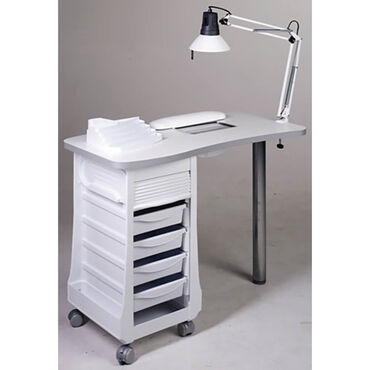 Sibel Manicure Table Vented White/7310610