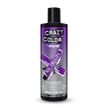 CRAZY COLOR Ultraviolet No Yellow Shampoo 250ml