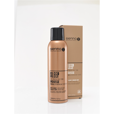 SIENNA X Q10 Self Tan Tinted Mousse 200ml