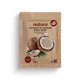 NATURA Masque en tissu Huile Noix de Coco 22ml