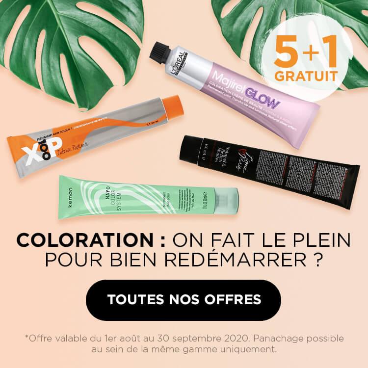 Coloration : 5+1 gratuit