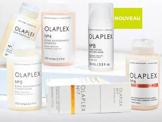Agissez en profondeur avec le seul système pour salon qui répare les liaisons capillaires. Essayez sans tarder OLAPLEX, la molécule qui a révolutionne le soin pour les cheveux.